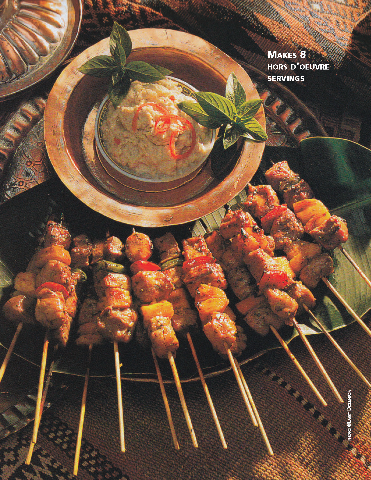STATUS Magazine LarryDickenson Satay Kebabs1
